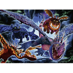 RAVENSBURGER Leuchtende Dragons Puzzle Mehrfarbig
