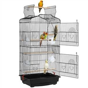 Vogelvoliere Papageienkäfig Vogelkäfig Zimmervoliere Vogelhaus 92/131/157/174cm