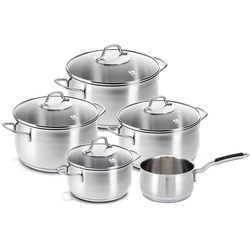 Beka Topf-Set Royal, Edelstahl, (Set, 9-tlg), Induktion