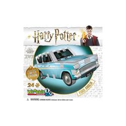 Wrebbit 3D-Puzzle Harry Potter 3D Puzzle Ford Anglia Wrebbit, Puzzleteile