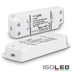 ISOLED LED Trafo 24V/DC, 0-15W, ultraflach, SELV ISO-113050