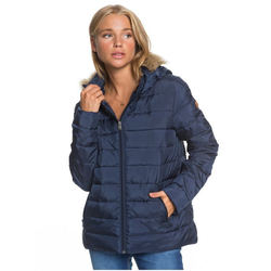 Roxy Daunenjacke Rock Peak Fur blau XL