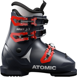 Atomic Skischuh HAWX JR 3 Dark Blue/Red Skischuh 35.5