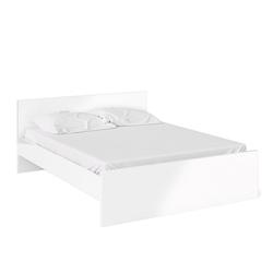 ebuy24 Bett Nada Bett Doppelbett für Box Matratze 160x200 cm,