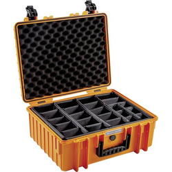 B & W Outdoor Box outdoor.cases Typ 6000 32.6l (B x H x T) 510 x 215 x 419mm Orange 6000/O/RPD
