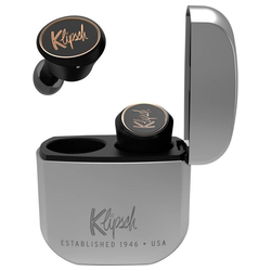 Klipsch T5 True Wireless IE Headphones black/silver, Bluetooth, In Ear Kopfhörer Kopfhörer