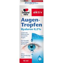 DOPPELHERZ Augen-Tropfen Hyaluron 0,2% 10 ml
