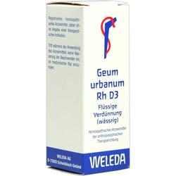 Geum Urbanum Rh D 3 Dilution