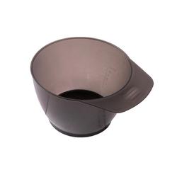 Friseurmeister Schüssel Haarfärbe Schüssel - in Grau, Color Bowl zum Anmischen von Haar-Farbe mit Mengenangabe und Griff