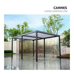 HOME DELUXE Pavillon Cannes Lamellenpavillon, Lamellen individuell einstellbar