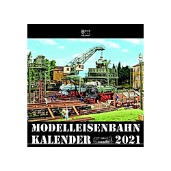 Modelleisenbahnkalender 2021 - Kalender