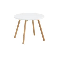 Kinder-Tisch  Krümel ¦ weiß Ø: 60