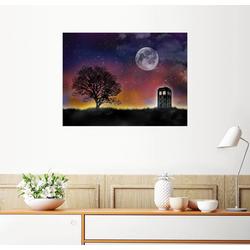 Posterlounge Wandbild, Premium-Poster Tardis, Doctor Who 90 cm x 70 cm