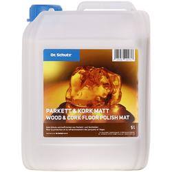 Dr. Schutz Parkett und Kork Matt 5 Liter reicht für ca. 200 m²