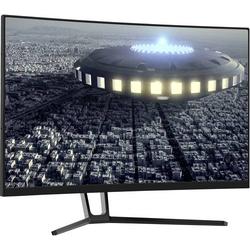 LC Power LC-M27-QHD-144-C Gaming Monitor 68.6cm (27 Zoll) EEK B (A+++ - D) 2560 x 1440 Pixel QHD 4 m