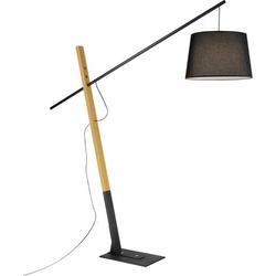 Paul Neuhaus KATI 526-18 Stehlampe LED E27 60W Schwarz, Holz