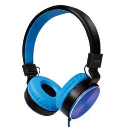 LogiLink Faltbare Stereo Kopfhörer, blau
