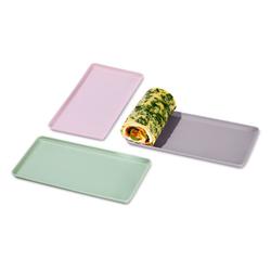 3 Dauerbackmatte für kleine Biskuitrollen