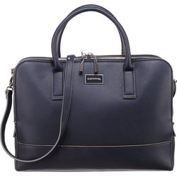 Comma Handtasche Pure Elegance Handbag Lhz Handtasche blau