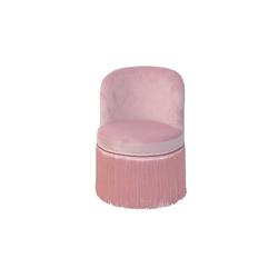 moebel-direkt-online Sessel Max (1-tlg), trendige Samtoptik rosa