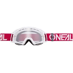 O´Neal B-20 Flat Brille, weiss-rot