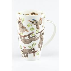 Dunoon Becher, Fine Bone China, Dunoon Becher Teetasse Kaffeetasse Henley It´s a lot of Sloth