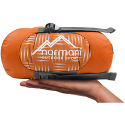 Ultralight-Schlafsack Tinbo Schlafsäcke orange