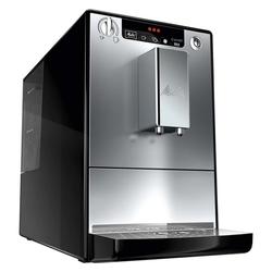 Melitta Kaffeevollautomat E 950-103 Kaffeevollautomat Caffeo Solo mit Vorbrühfunktion silber/schwarz