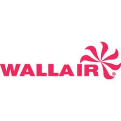 Wallair N40983 Lüftergitter (B x H) 12cm x 12cm