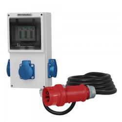 3x230V Mobiler Stromzähler 16A MID 5x2.5mm2 Doktorvolt 4319
