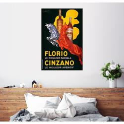 Posterlounge Wandbild, Cinzano 60 cm x 90 cm
