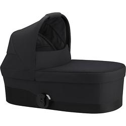Kinderwagenaufsatz COT S, Deep Black/ black schwarz