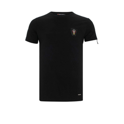Cipo & Baxx T-Shirt mit Aufnäher L
