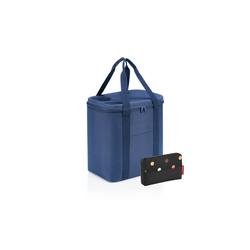 REISENTHEL® Einkaufskorb, Sommerset reisenthel coolerbag XL 30 l Kühltasche + reisenthel pocketcase dots blau
