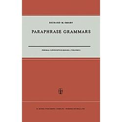 Paraphrase Grammars. R. M. Smaby  - Buch