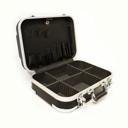 Hartschalenkoffer Werkzeugkoffer ABS schwarz Elektrikerkoffer leer Servicekoffer