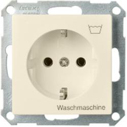 ELSO 265120, Steckdose bedruckt Waschmaschine 16A Joy Steckklemme perlweiß
