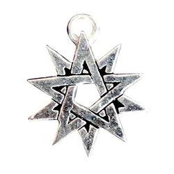 Adelia´s Amulett Siegel der Hexerei, Doppeltes Pentagramm - Kräfte des Lichts