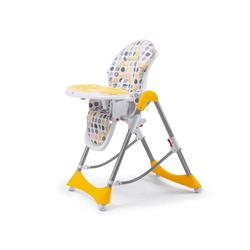 Baby Vivo Hochstuhl Design Kinderhochstuhl aus Kunststoff - Tippy in Orange