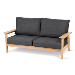 2-Sitzer-Sofa aus FSC®-zertifiziertem Holz
