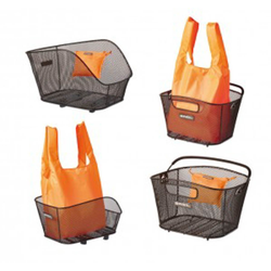 Basil Fahrradkorb Shoppertasche Basil Keep orange, faltbar, geeignet