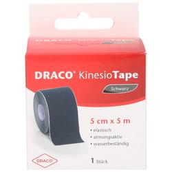 DRACO KINESIOTAPE 5 cmx5 m schwarz 1 St