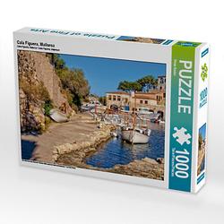 Cala Figuera, Mallorca Lege-Größe 64 x 48 cm Foto-Puzzle Bild von Peter Roder Puzzle