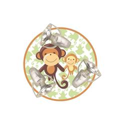 Waldi-Leuchten Deckenleuchten Deckenleuchte Affe, 3-flg