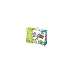 Trefl Puzzle Baby Puzzle - Fahrzeuge (4 x 2 Teile), Puzzleteile