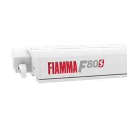 Fiammastore F80 S Polar White Tuch Royal Grey 290 cm - Tuchbreite 278 cm