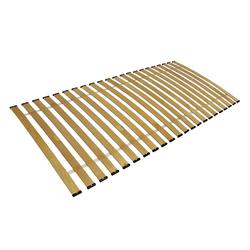Rollrost, Clamaro, Rollrost Lattenrost gebogene Federleisten rahmenlos Bettrost bis 150Kg CLAMARO 100 cm x 200 cm