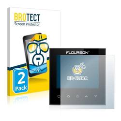 2 BROTECT HD-Clea Displayschutzfoli fü Floureo Smar Wif HY03WE