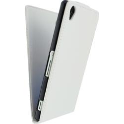 Sony Xperia Z3 Hülle Xccess Weiß Flipcase