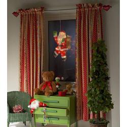 Konstsmide 2850-010 LED-Fensterbild Weihnachtsmann LED Bunt mit Schalter